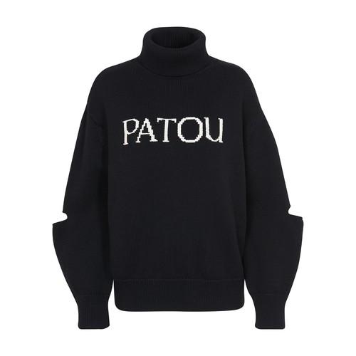 Patou LOGO SWEATER