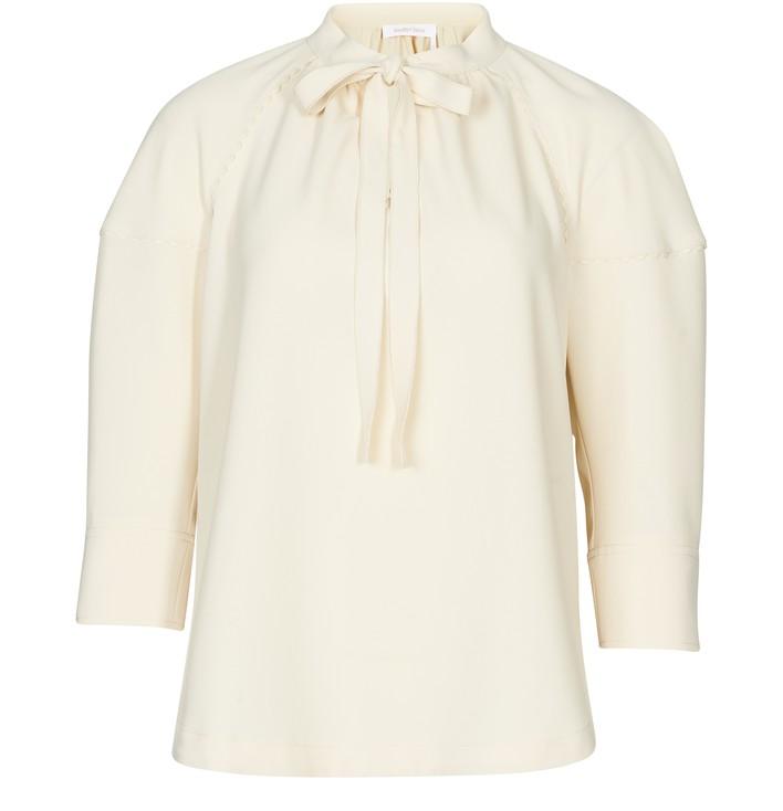 씨 바이 끌로에 See by Chloe Fluid blouse,angora beige