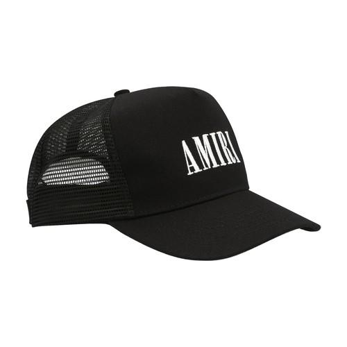 Amiri LOGO TRUCKER CAP