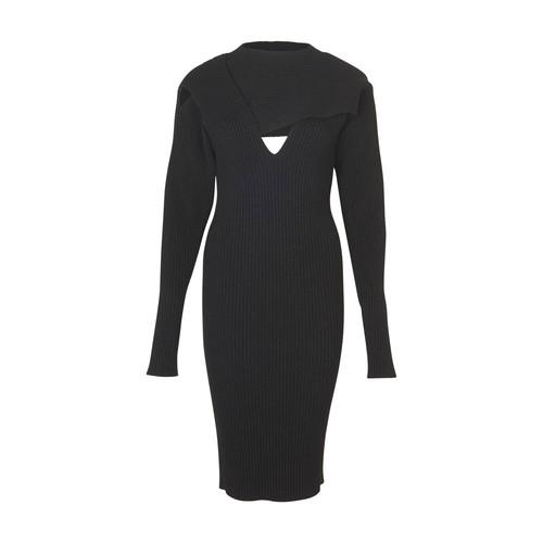 Long sleeves midi dress