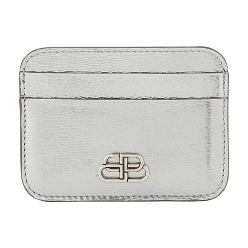 BB leather card holder