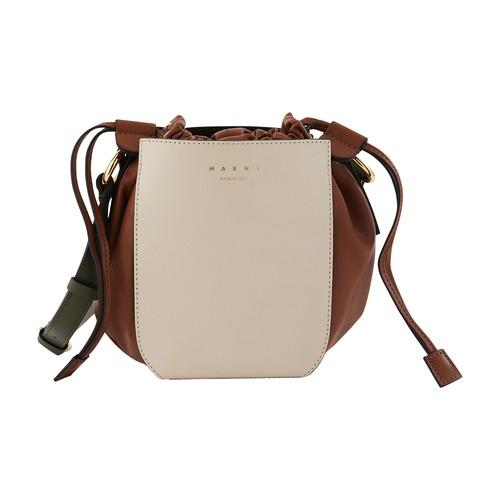 Gusset shoulder bag