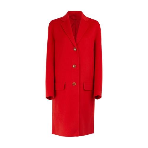 Manteau en cachemire et laine