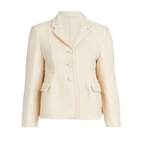 Boucle Shaped Jacket