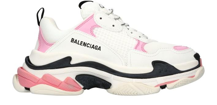 발렌시아가 트리플S 스니커즈 - 핑크/화이트/블랙 Balenciaga Triple S sneaker