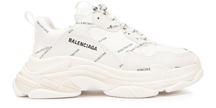 발렌시아가 트리플S 스니커즈 - 화이트/블랙 Balenciaga Triple S trainers