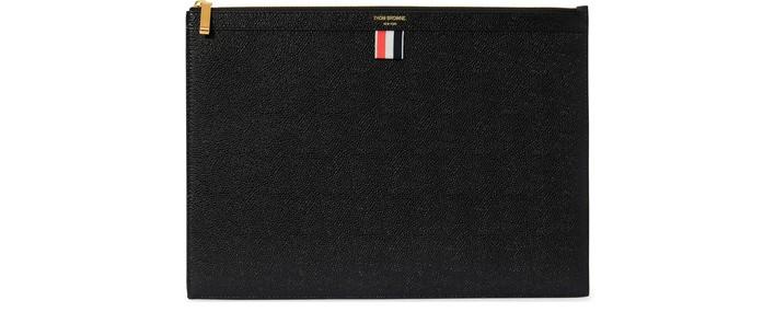 탐 브라운 파우치 - 블랙 Thom Browne Zipped pouch