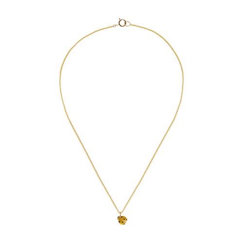 Coccinella necklace