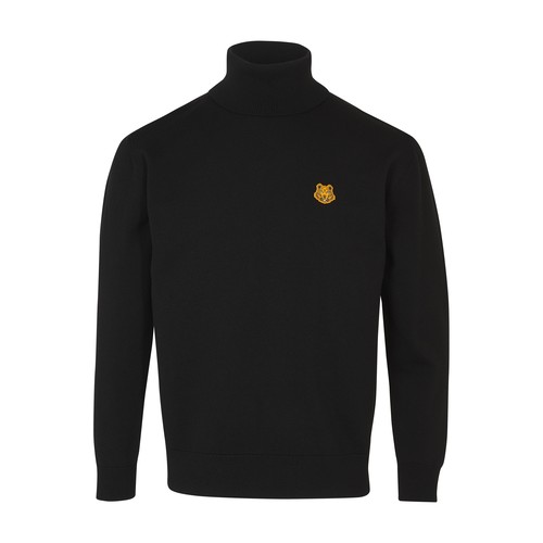 Tiger turtleneck sweater