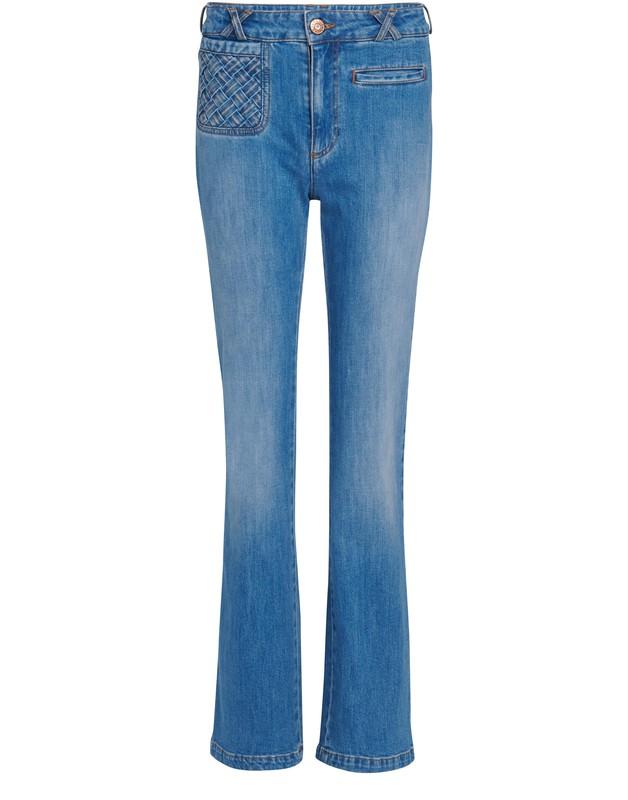 씨 바이 끌로에 See by Chloe Flared jeans,shady cobalt