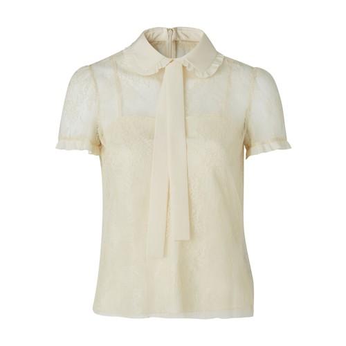 Chemise manche courte en soie