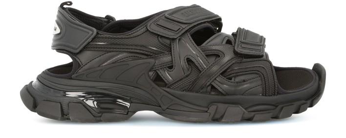 발렌시아가 트랙 샌들 - 블랙 Balenciaga Track sandal