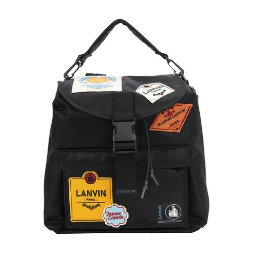 Lanvin Backpacks PATCH BAG