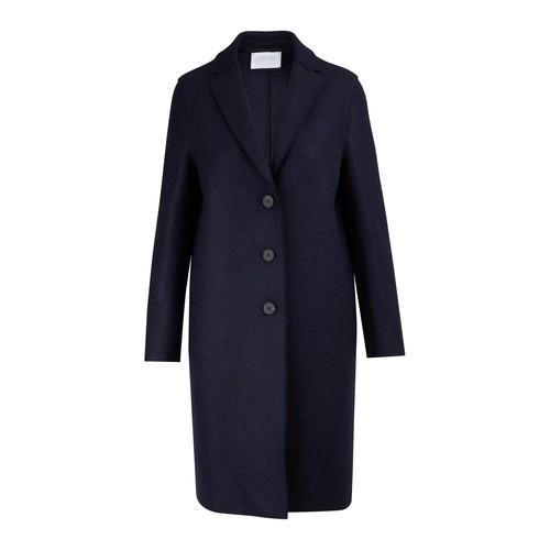 Manteau en laine pressée