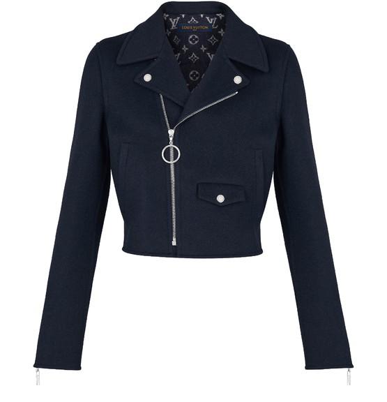 Louis Vuitton Monogram Inside Perfecto Jacket In Black