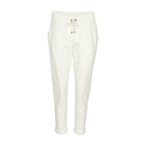 Brunello Cucinelli LIGHTWEIGHT FRENCH TERRY TROUSERS