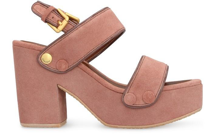 씨 바이 끌로에 See by Chloe Galy sandals,pink