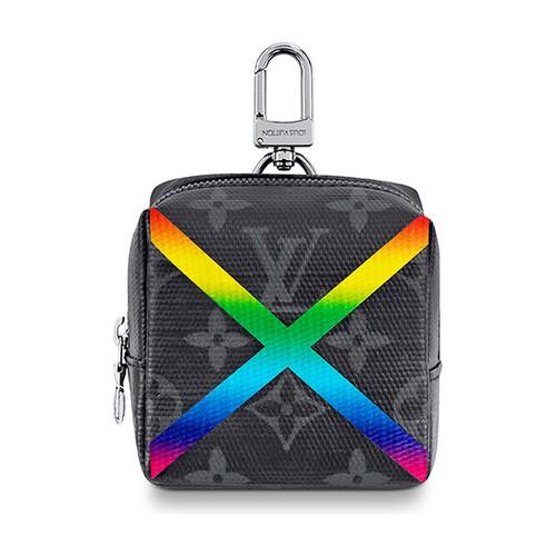 Box Pouch Bag Charm
