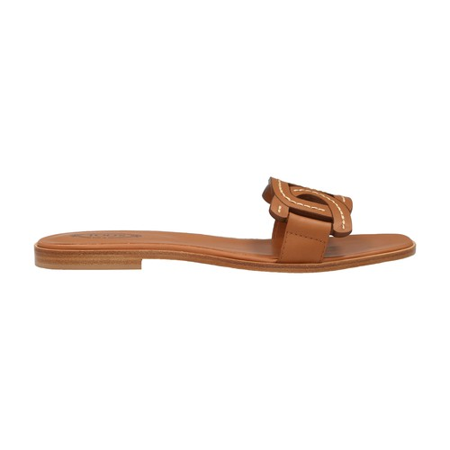 Tod's Leathers LEATHER SLIDES