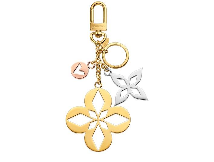 루이 비통 LOUIS VUITTON Malletage Blossom Bag Charm & Key Holder,or