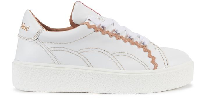 씨 바이 끌로에 See by Chloe Sevy sneakers,white/light rose