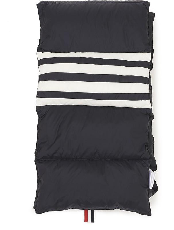 톰 브라운 패딩 스카프 - 네이비 (맨선물 추천)  Thom Browne Padded scarf