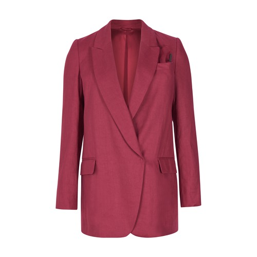 Brunello Cucinelli BLAZER WITH MONILI