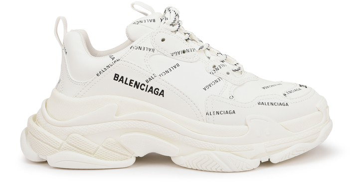 발렌시아가 트리플S 스니커즈 - 화이트/블랙 Balenciaga Triple S sneakers