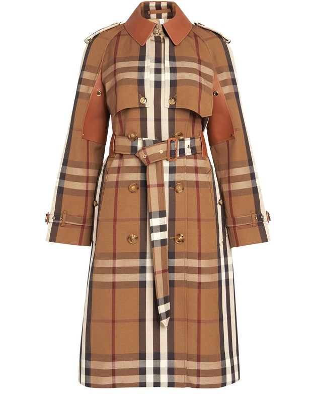 버버리 트렌치 코트 Burberry Rainham trench,birch brown ip pttn