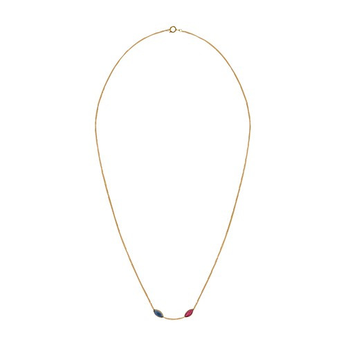 Navy necklace