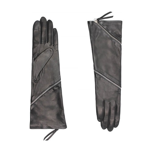 Zipper tactile silk lining