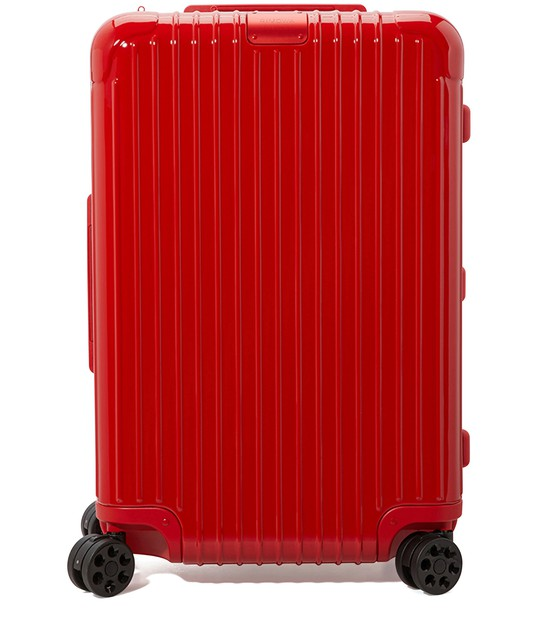 Rimowa Essential Lite Cabin S Carry-on Suitcase In Red - Polycarbonate - 21,7x15,8x7,9 In Red Gloss