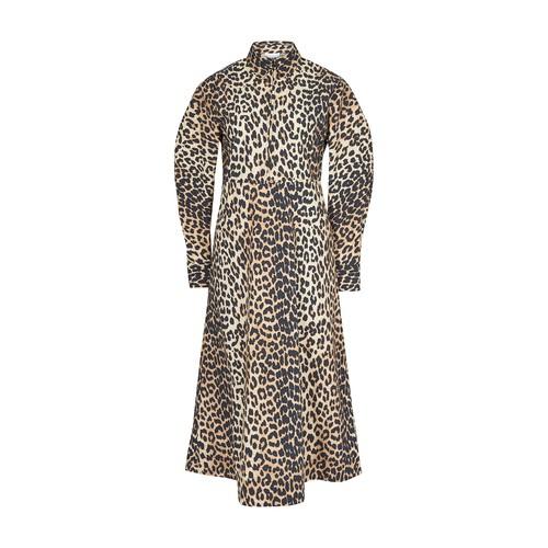 레오파드 프린트 드레스