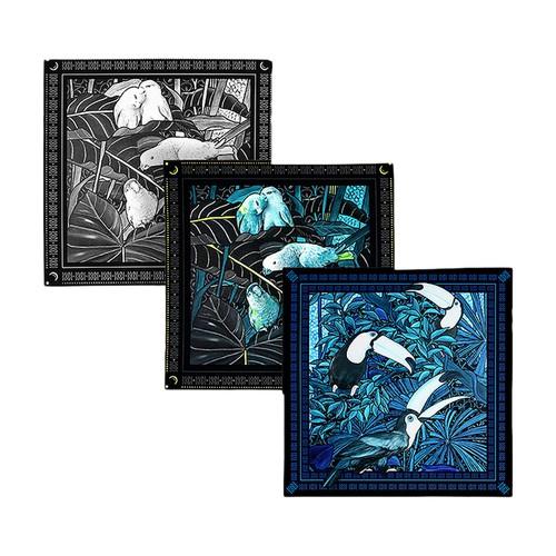 Gift Box 3 Pocket Squares The Birds