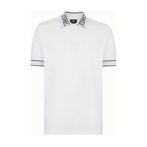 Fendi Piqué Knit In Blanc