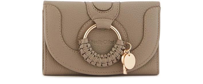 씨 바이 끌로에 See by Chloe Hana compact wallet,motty grey