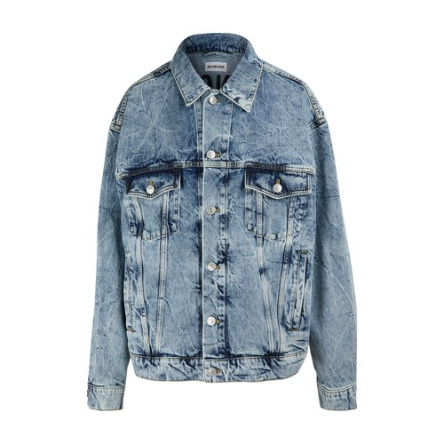 로고 데님 재킷