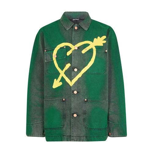 Palm Angels Jackets PIERCED HEART JACKET