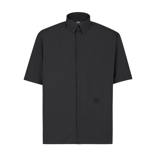 Fendi BLACK COTTON SHIRT