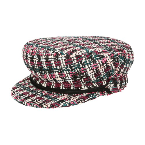 Maison Michel NEW ABBY TWEED MULTI HAT
