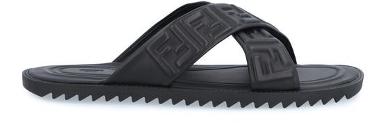 Fendi Sandals FF Nappa sandals