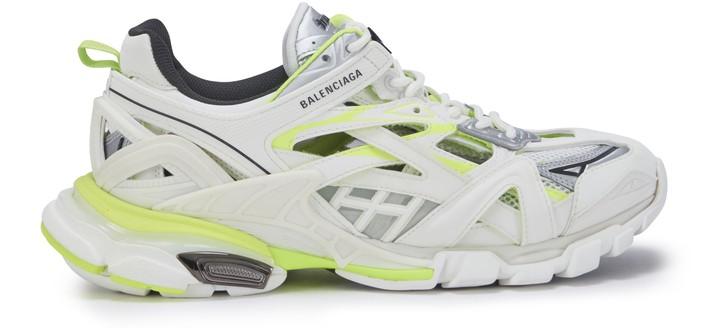 발렌시아가 트랙 스니커즈 - 화이트/네온 Balenciaga Track sneakers