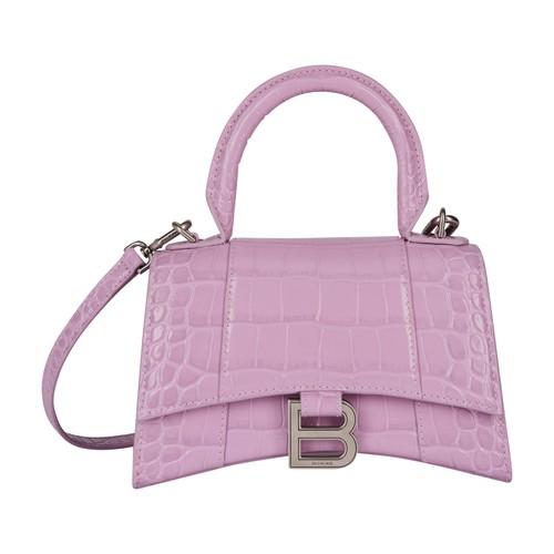 Balenciaga Leathers Hourglass Top Handle XS bag