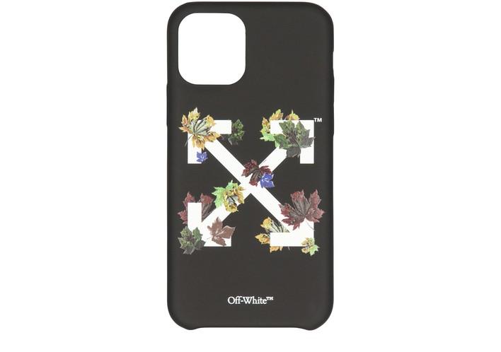 오프화이트 아이폰11 프로 케이스 - 애로우스탬프 Off-White Arrow Stamp phone case,black/white