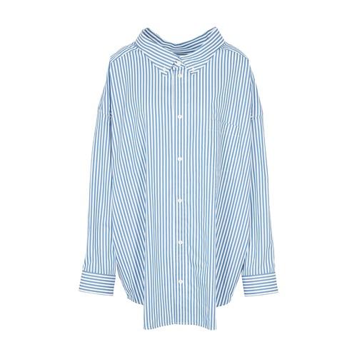 롱 슬리브 스윙 셔츠