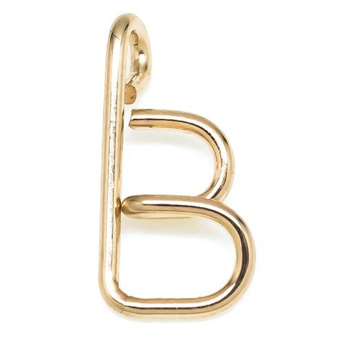 Initial Pendant B