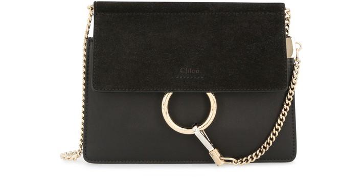 끌로에 Chloe Faye mini chain bag,black