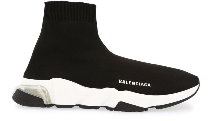 발렌시아가 스피드러너 LT - 블랙/화이트/클리어 Balenciaga Speed lt sneaker