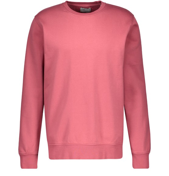 Colorful Standard Light Pink Cotton Sweatshirt In Raspberry Pink