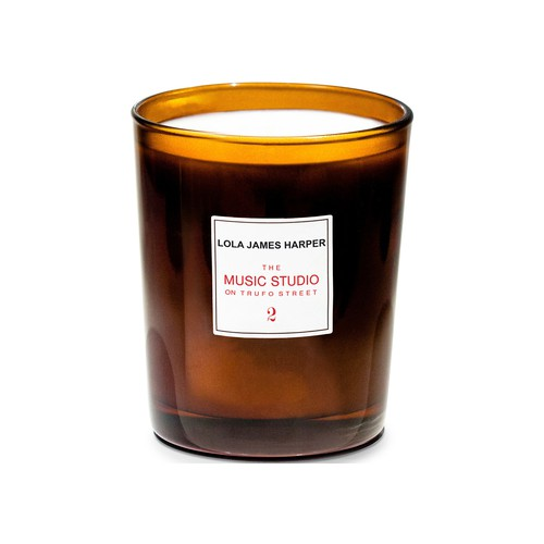 The Music Studio on Trufo St candle 190 g